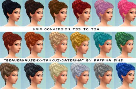 sims 4 blog ts3 nappy fros hair conversions for males by ebonixsimblr my sims 4 blog beaverhausen tankuz caterina conversion