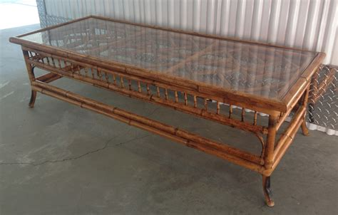 gold bamboo table l gold bamboo glass coffee table writehookstudio com