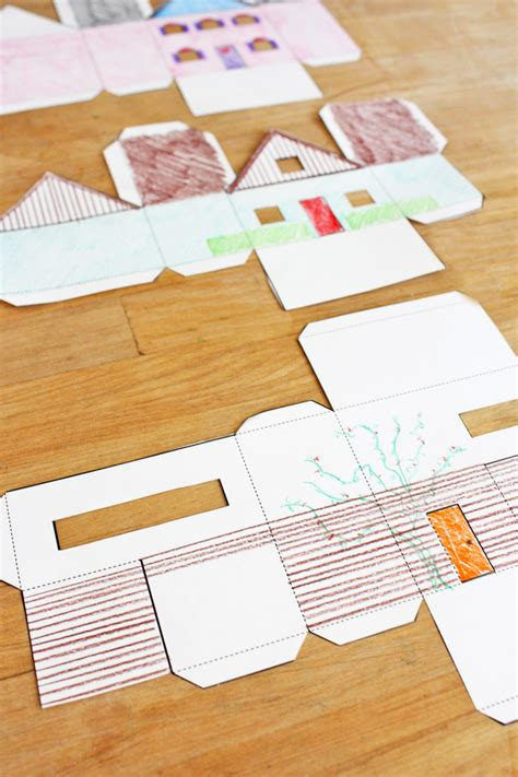 Craft In Paper - design for paper houses babble dabble do