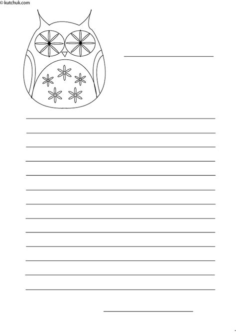 printable owl note paper stationery halloween owl coloring pages this page is in