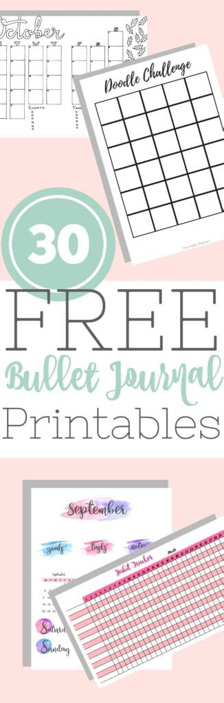 Galerry 2018 life planner printable free