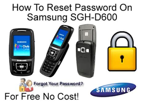 reset samsung without password how to reset forgotton samsung sgh d600 secuitry password