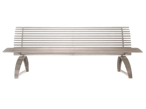 stainless steel park benches stainless steel park bench 171 bc site service