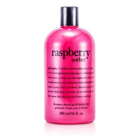 Philosophy Detox Shower Gel by Philosophy New Zealand Raspberry Sorbet Shoo Bath