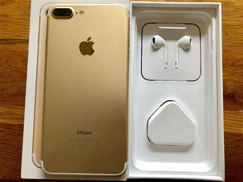 apple iphone 7 plus gold 128gb unlocked immaculate condition in portslade east sussex