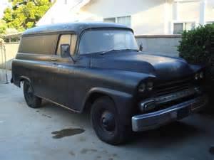 motomo 1958 chevy panel truck