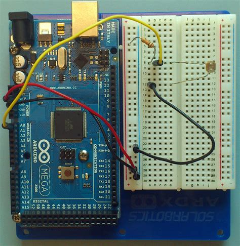 photoresistor ground arduino intro labs for tangible computing 9 building circuits