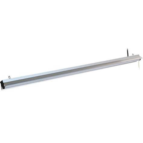 len 5000 kelvin led shop light fixture 4 ft 75w keystone slst75
