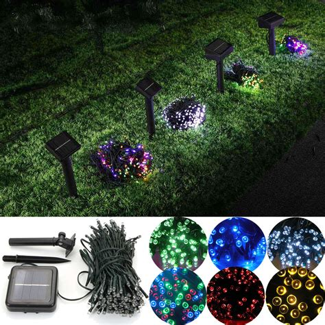 solar power string lights 200 led solar power string lights