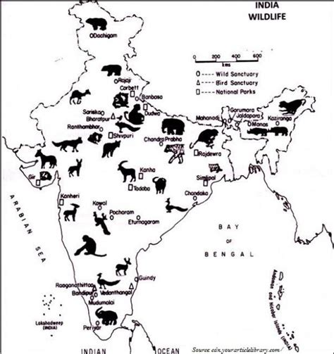 tutorialspoint union geography india wildlife