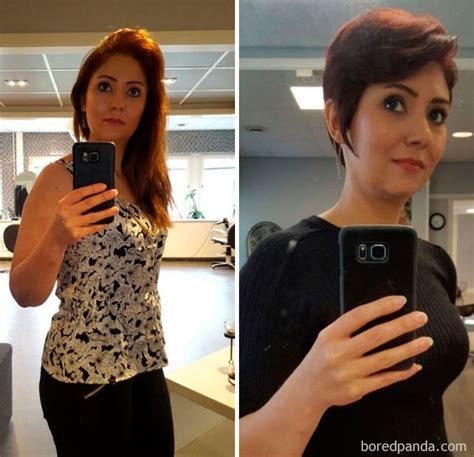 extreme haircuts before and after 10 extreme haircut transformations that will inspire you