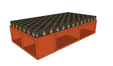 storage bed plans twin storage bed plans pdf diy twin storage bed diy