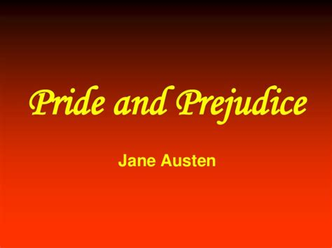themes of pride and prejudice ppt themes of pride and prejudice slideshare pride prejudice