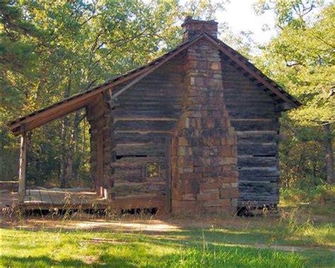 Mt Petit Jean Cabins pioneer cabin at cedar creek trailhead petit jean state