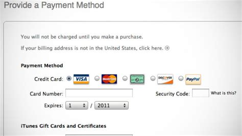 can i make an itunes account without a credit card create an apple id in itunes account without a credit card