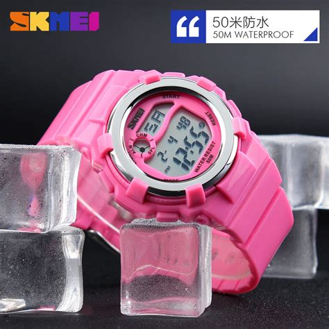 Skmei Children Sport Silicone Led Water Resistant 50m Dg1161 2 jam tangan anak skmei children sport silicone led