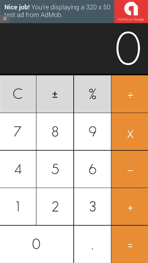 Xcode Calculator Layout | ios difficulty in a calculator layout in xcode in swift