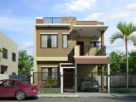 modern house designs pictures gallery best two storey house designs