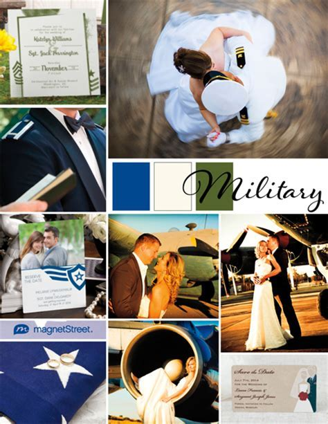 Military Wedding Inspiration   Military Wedding Ideas