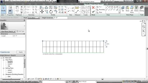 revit tutorial stairs revit stairs and railings tutorial stair by sketch