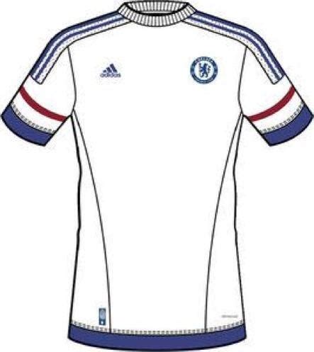 Kaos Chelsea New Cfc 12 leaked chelsea jersey 2015 2016 chelsea 2015 16 home away