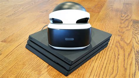 Sony Playstation Vr Ps Vr Psvr playstation vr on ps4 pro vs ps4 comparison review