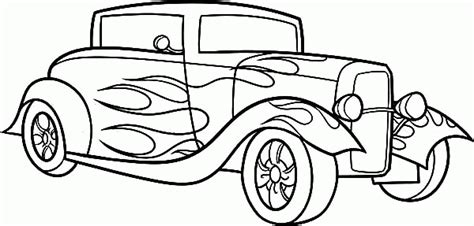 coloring pages of hot cars hot rod coloring pages coloring home
