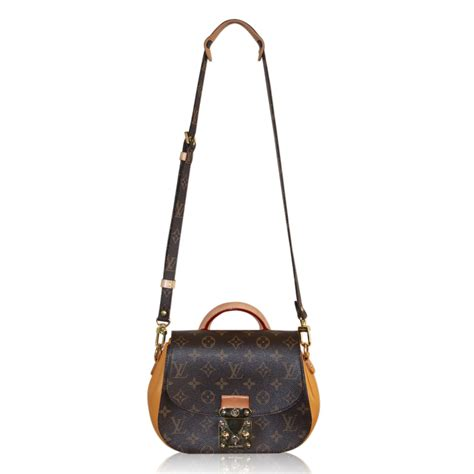 louis vuitton monogram eden pm caramel crossbody handbag