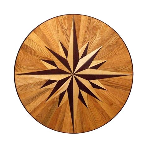 Decorative Inlays by Pid Floors Helix Design 3 4 In Thick X 6 In Wide X 48 In