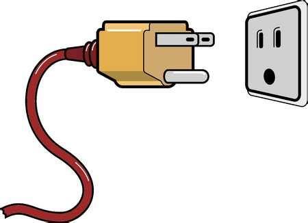 stock illustration socket up