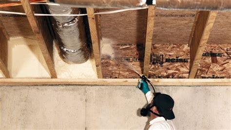 air sealing basement joist knee wall air sealing missouri wall air