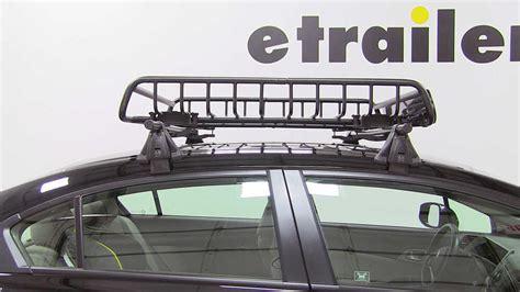 honda civic yakima loadwarrior roof rack cargo basket