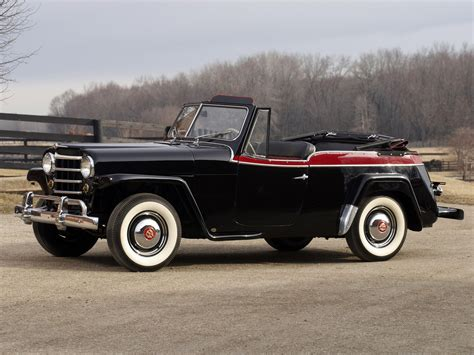 willys jeepster willys overland jeepster phaeton vj 1950