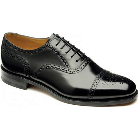 loake loake 201b brogue black opp c mens shoes loake