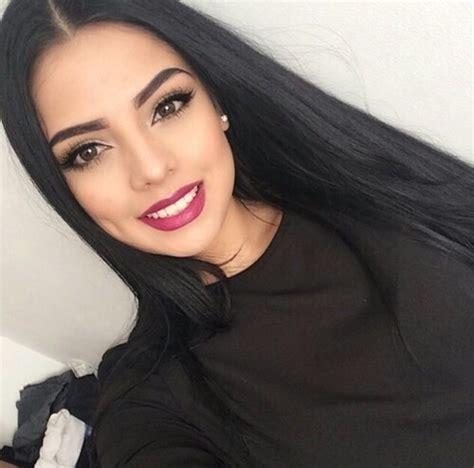 photos of lovely dark black long silky hairs of indian chinese girls in braidedpony styles 15 ideas de maquillaje sencillo para cuando sales con el