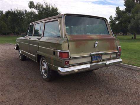 1970 jeep wagoneer interior 1970 jeep wagoneer arizona survivor