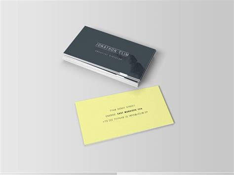 Glossy Business Card Templates by Free Glossy Business Cards Gallery Card Design And Card