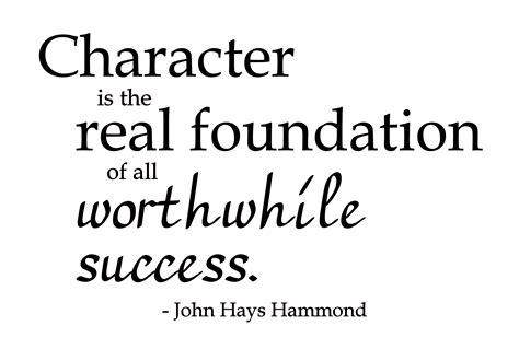 character traits characterization success character the importance of character in attracting success