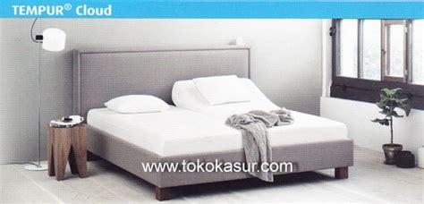 Kasur Tempur tempur cloud 25 cm toko kasur bed murah simpati
