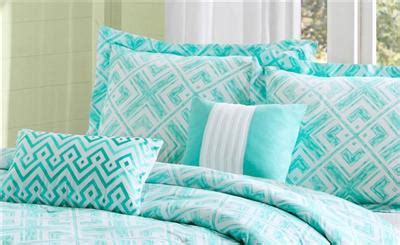 girls teal bedding girls teen teal blue white modern geometric square