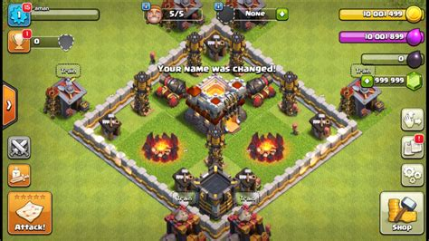 download game coc mod unlimited gold download latest miro clash apk private server coc