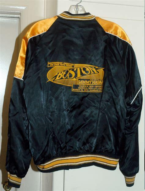 vintagetourjackets boston band jacket