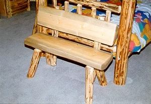log benches with backs half log bench with back 48 quot lodge craft