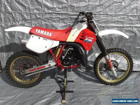 vintage motocross bikes for sale australia used yamaha yz250 motorcycles for sale in australia
