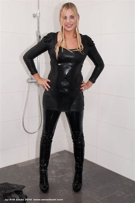 bathroom bondage pin more about wetlook fully clothed bath on pinterest