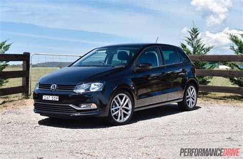 black volkswagen polo 2016 volkswagen polo 81tsi comfortline review video