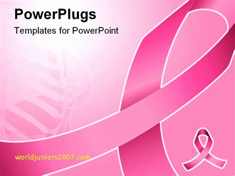 breast cancer powerpoint presentation templates cancer presentation templates nishihirobaraen