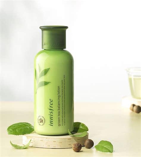 Innisfree Balancing Lotion 160ml s盻ッa d豌盻 ng tr 224 xanh innisfree green tea balancing lotion 160ml