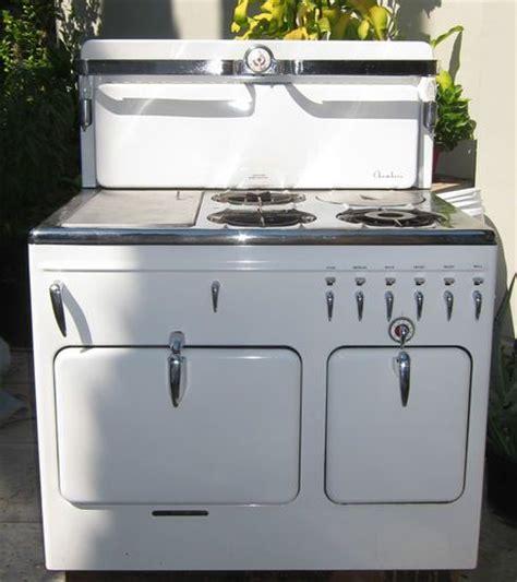 Best Kitchen Stoves vintage white gas stove ebay 1308 kitchen pinterest