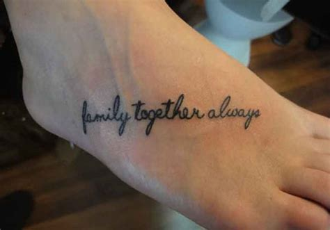 tattoo family word 25 wonderful word tattoos for girls creativefan